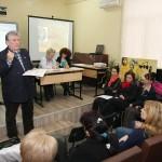 Раздаване на грамоти на участниците в Народните будители и Аз